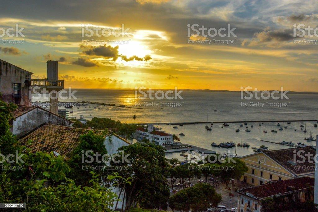 Sunset in Salvador,Bahia Brazil