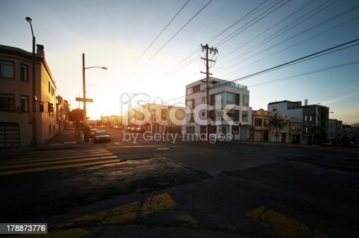 istock Sunset in San Francisco 178873776
