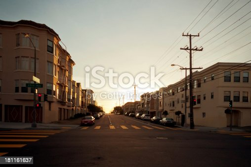 istock Sunset in San Francisco 181161637