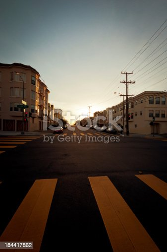 istock Sunset in San Francisco 184417862