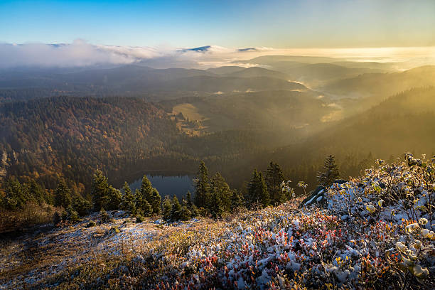 Sunset in the Black forest – Foto