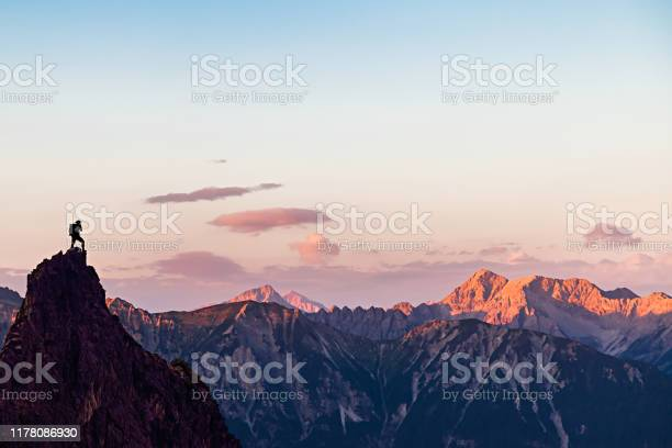 Photo of Sunset in the Mountains