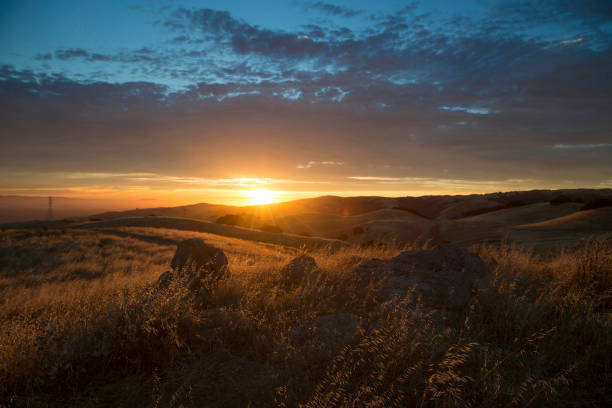 Sunset in the Mountains sunset in the mountains jude beck stock pictures, royalty-free photos & images