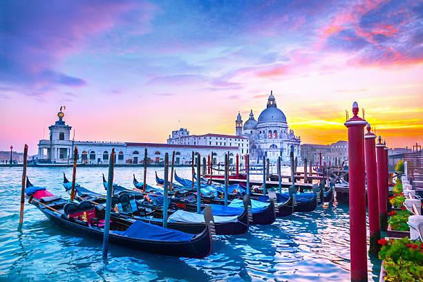 Sonnenuntergang in Venedig – Foto
