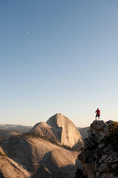 Sunset in Yosemite stock photo