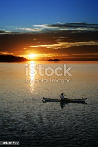 184332102istockphoto XXL sunset kayaking 136919272