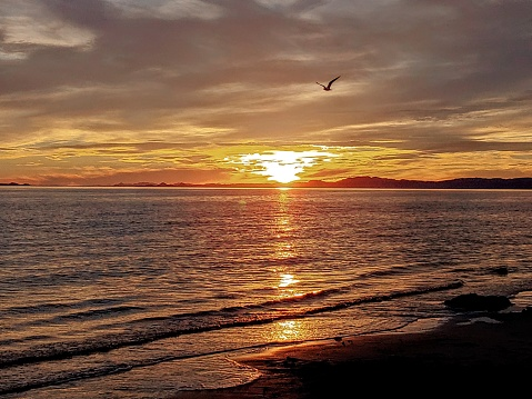 Sunset Kino Bay