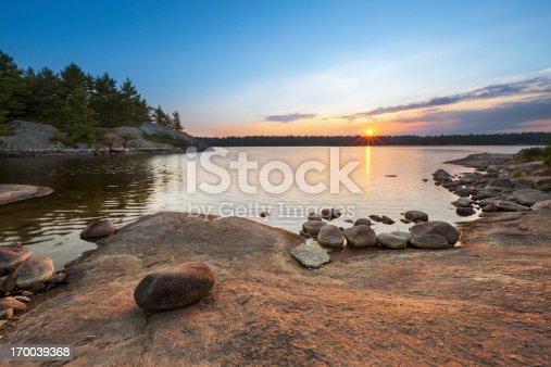 istock Sunset Lake Landscape 170039368