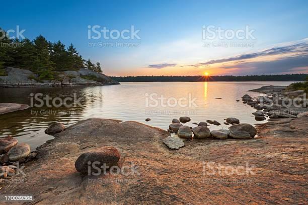 Photo of Sunset Lake Landscape