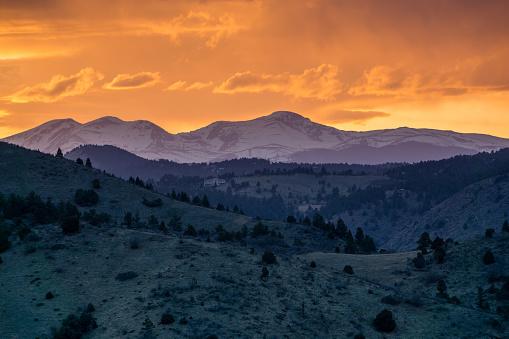 Sunset - Morrison, Colorado