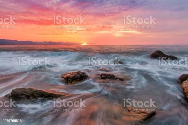 Photo of Sunset Ocean Surreal Sea