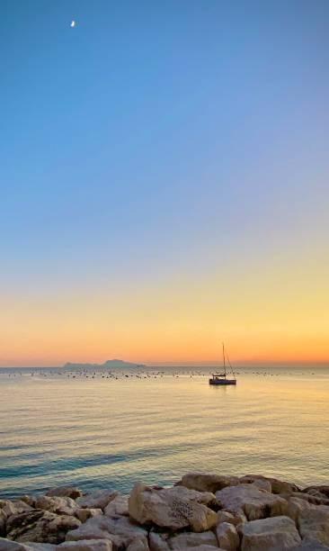 Sonnenuntergang von Neapel – Foto
