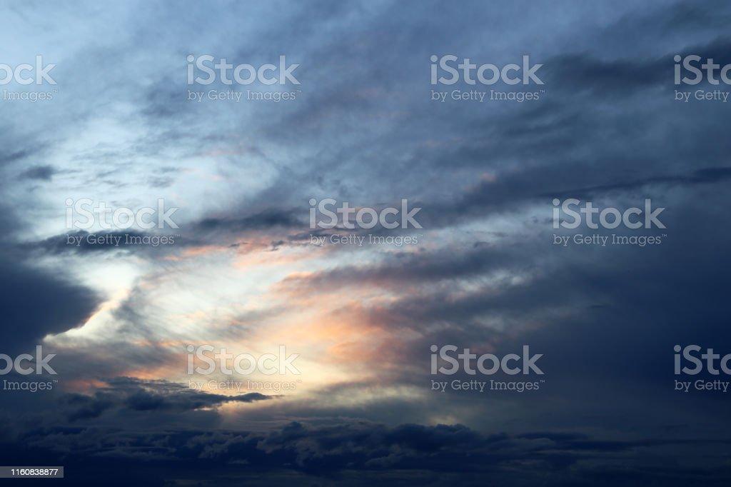 Picturesque landscape for background