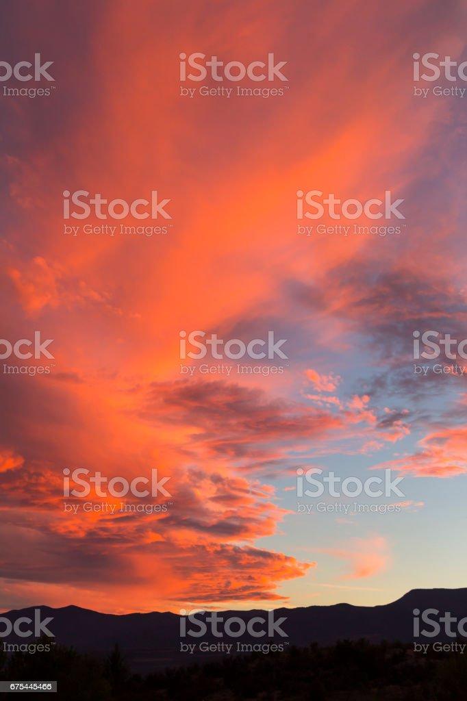 Cumulus on Sunset royalty-free stock photo