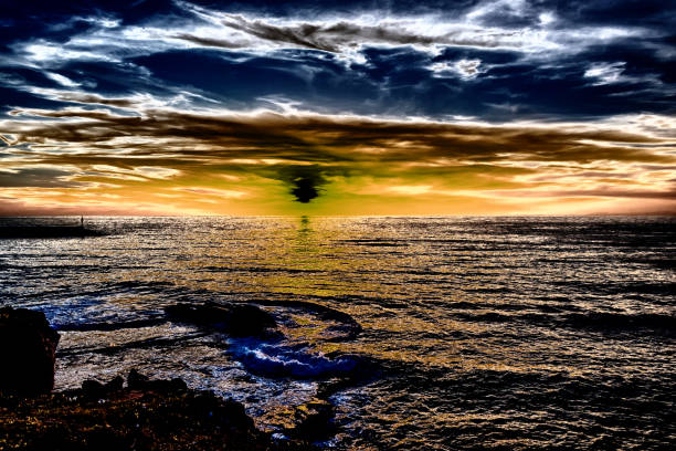 Sunset on Earth 27 - foto stock