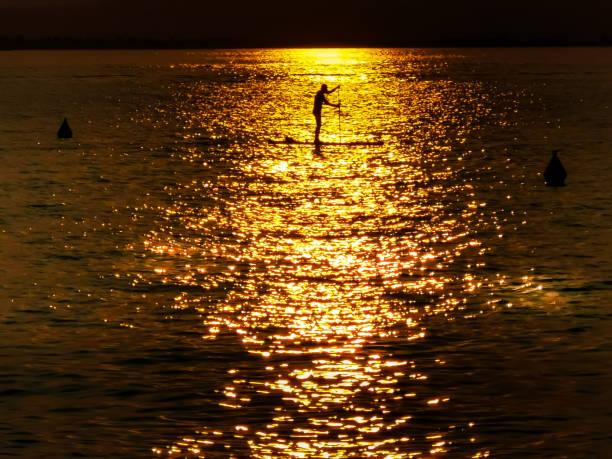 Sunset on Lake Garda – zdjęcie