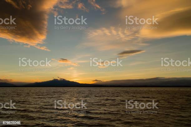 Photo of sunset on Mount Canigou