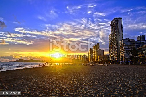 Benidorm is one of the most popular beach destinations in Spain