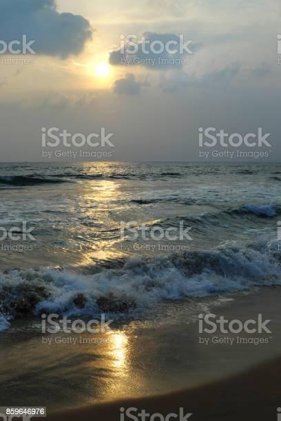 Photo of Sunset on the Arabian Sea