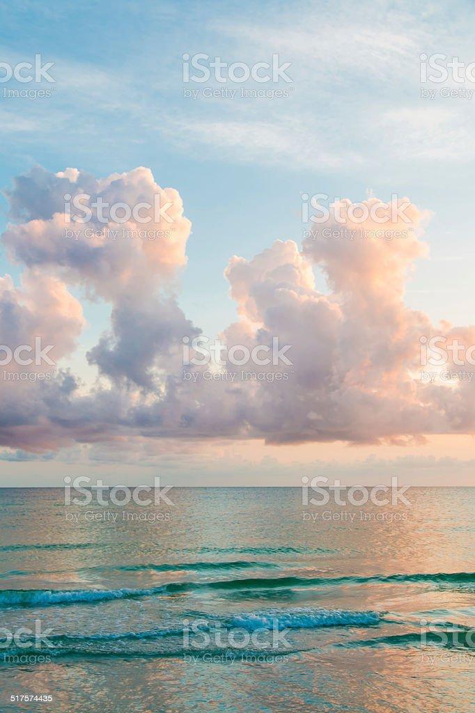 Sonnenuntergang über dem Atlantik – Foto
