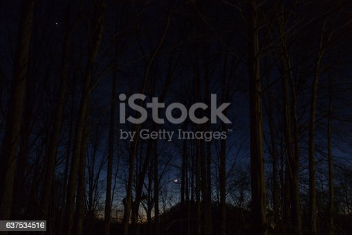 istock Sunset on the Balsam Mountain, North Carolina 637534516