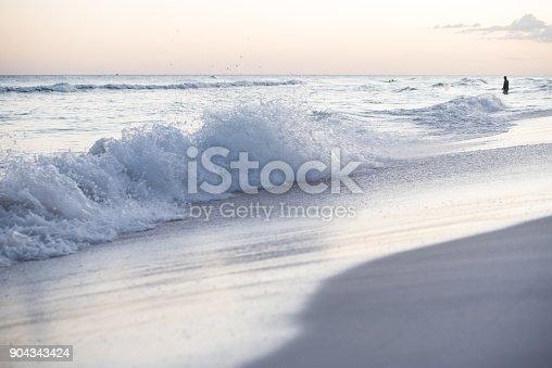 istock Sunset on the beach 904343424
