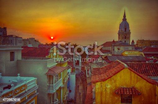 1148861090istockphoto Sunset over Cartagena 472562616