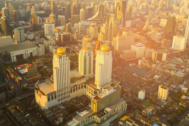 曼谷日落城商務中心辦公樓泰國圖像檔