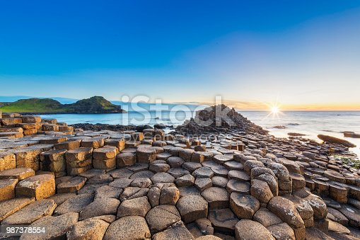 Sunset, Sunrise - Dawn, Sun, Stone - Object, National Landmark