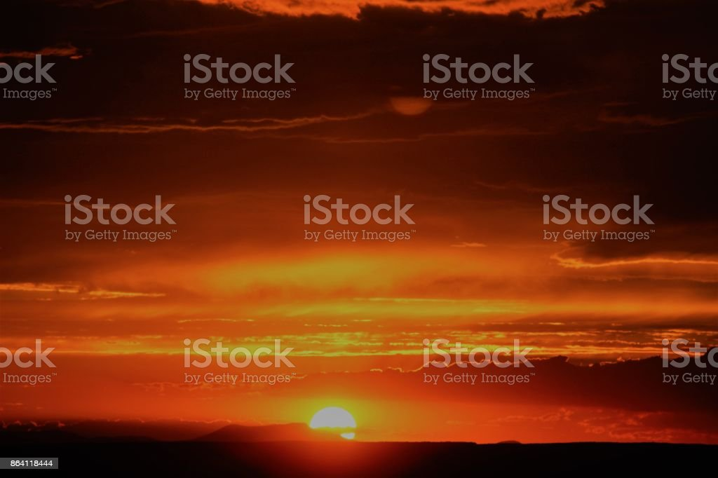 Sunset Over Grand Canyon royalty-free stock photo