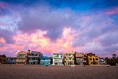 istock Sunset over Hermosa Beach 1218269134