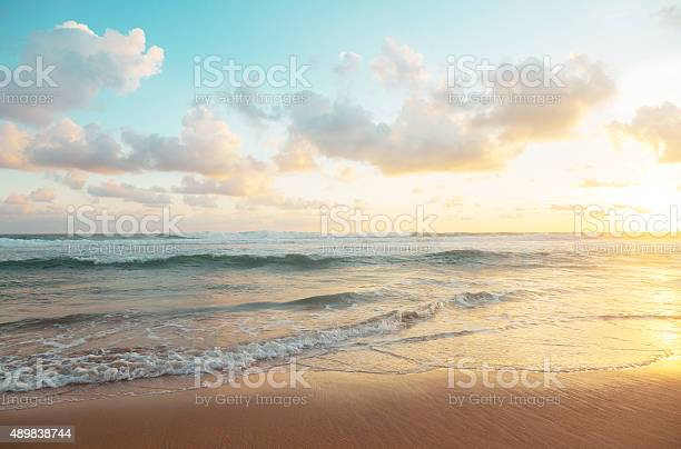 Photo of Sunset over Indian ocean