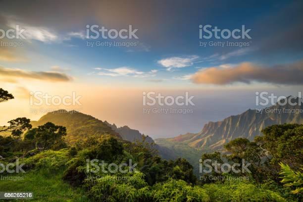 Hawaii Islands, Island Sunset, Sea, Tropical Climate