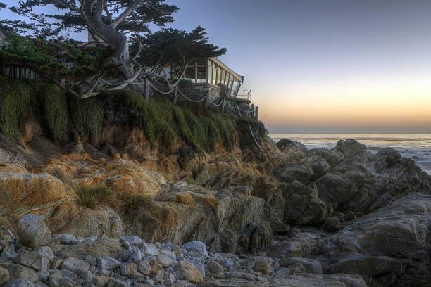 Sonnenuntergang über einem Pazifik – Foto