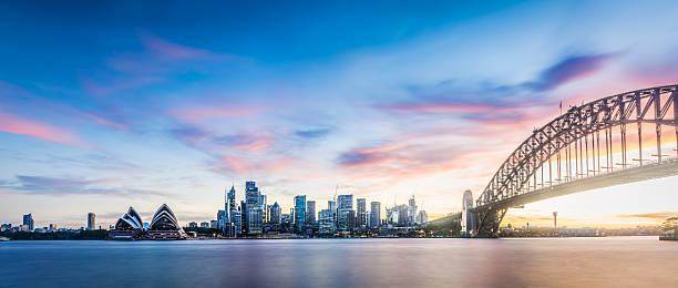 Sonnenuntergang in Sydney 71 MP – Foto