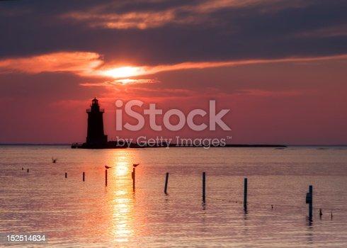 Lighthouse in Cape Henlopen, DE