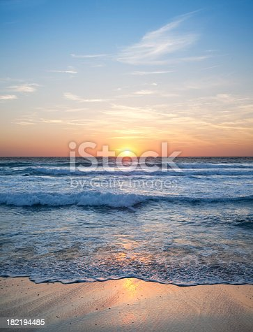 Sunset over the sea. Photography in high resolution. Similar photographs from my portfolio:
