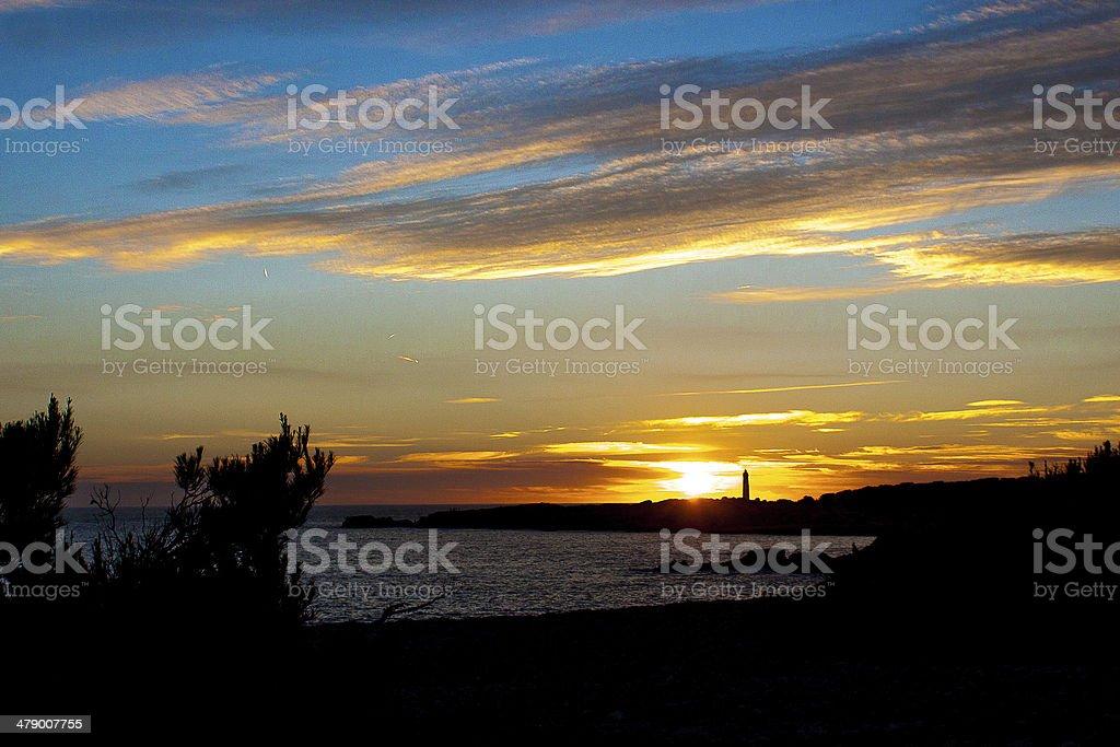 Coucher De Soleil Sur La Mer Stock Photo Download Image Now Istock