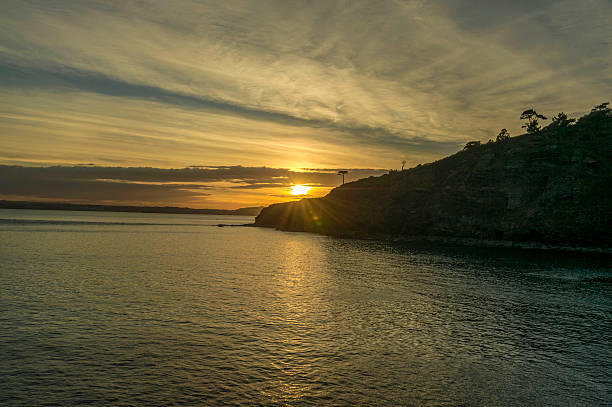 Sunset over Tor Bay – Foto