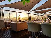 istock Sunset overlooking Marbella 1250188766