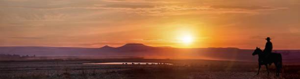 Panorama du coucher du soleil à Durban - Photo