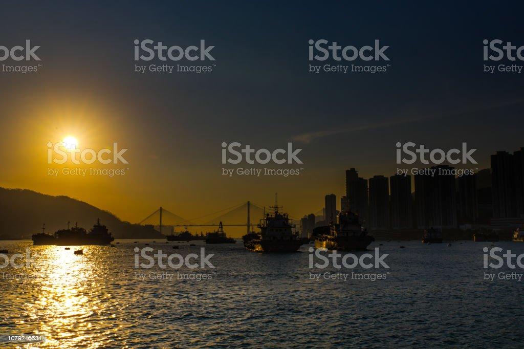 日落圖像檔