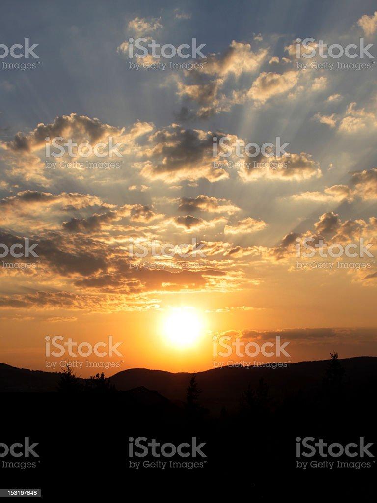 sunset - Royalty-free Cloud - Sky Stock Photo