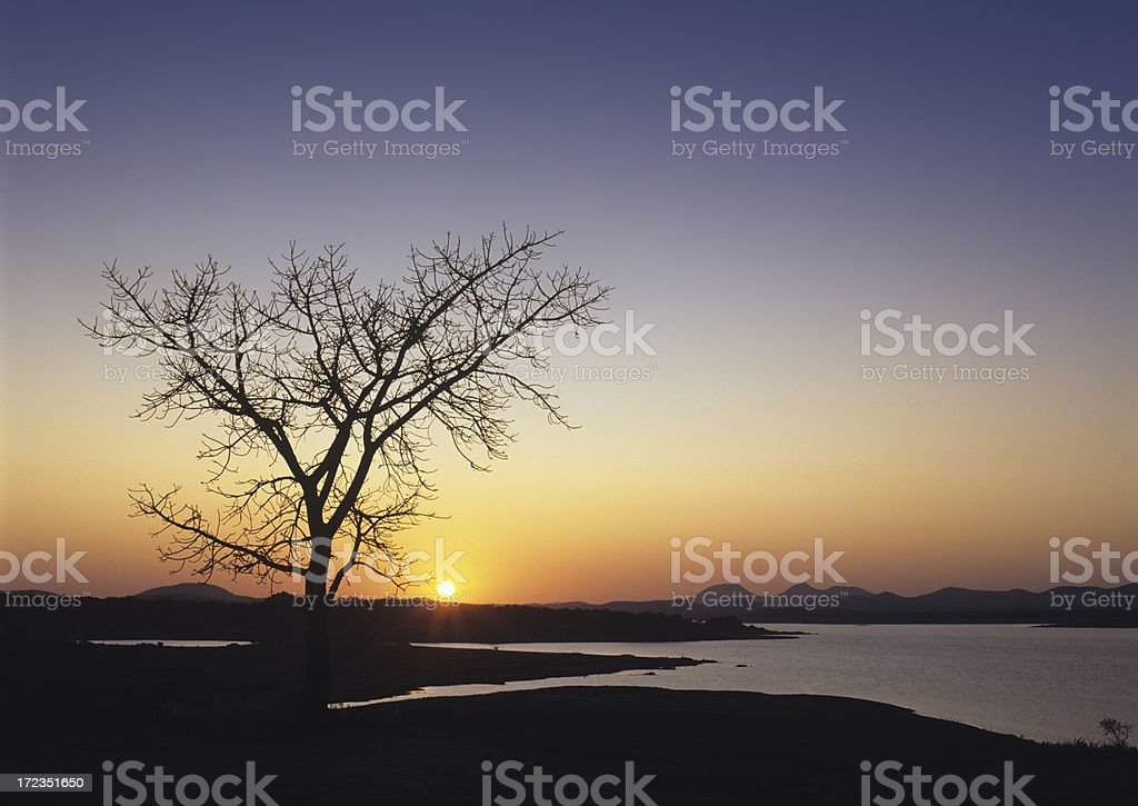 Sunset (image size XXL) royalty-free stock photo