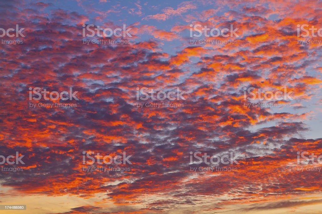 Sunset. royalty-free stock photo