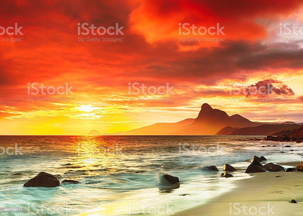 Bei Sonnenuntergang – Foto