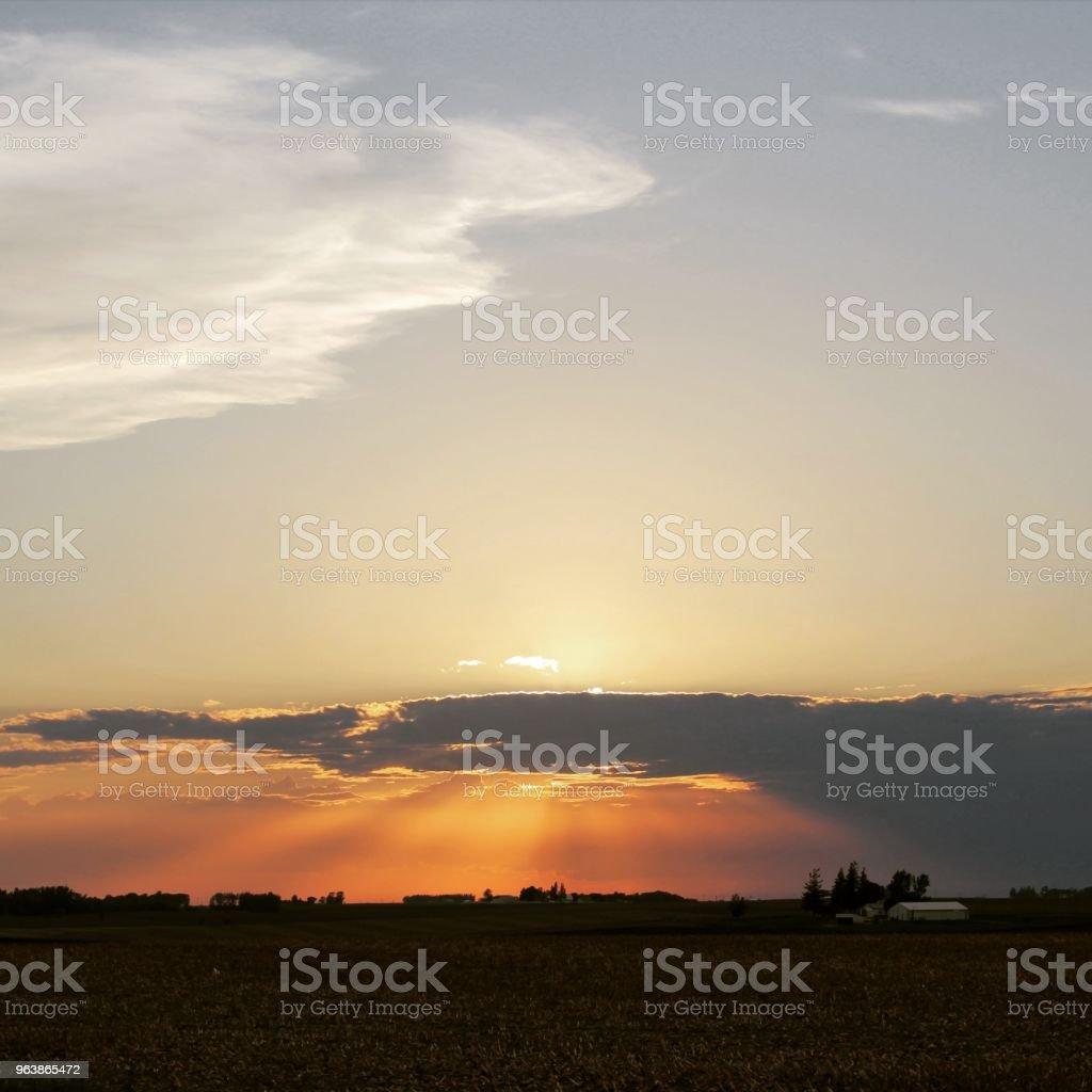 Sunset - Royalty-free Atmospheric Mood Stock Photo