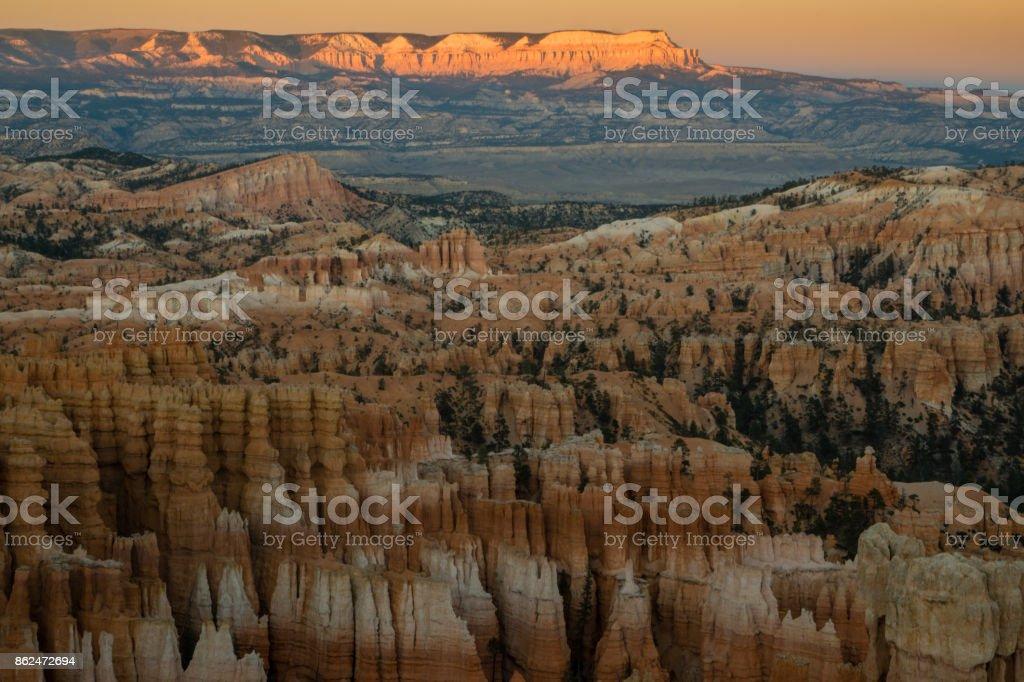Sunset Point - Bryce Canyon stock photo