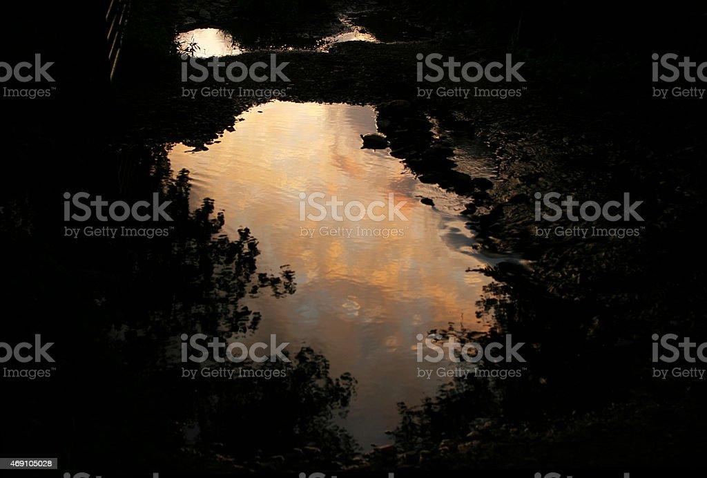 Sunset Reflection - Royalty-free 2015 Stock Photo