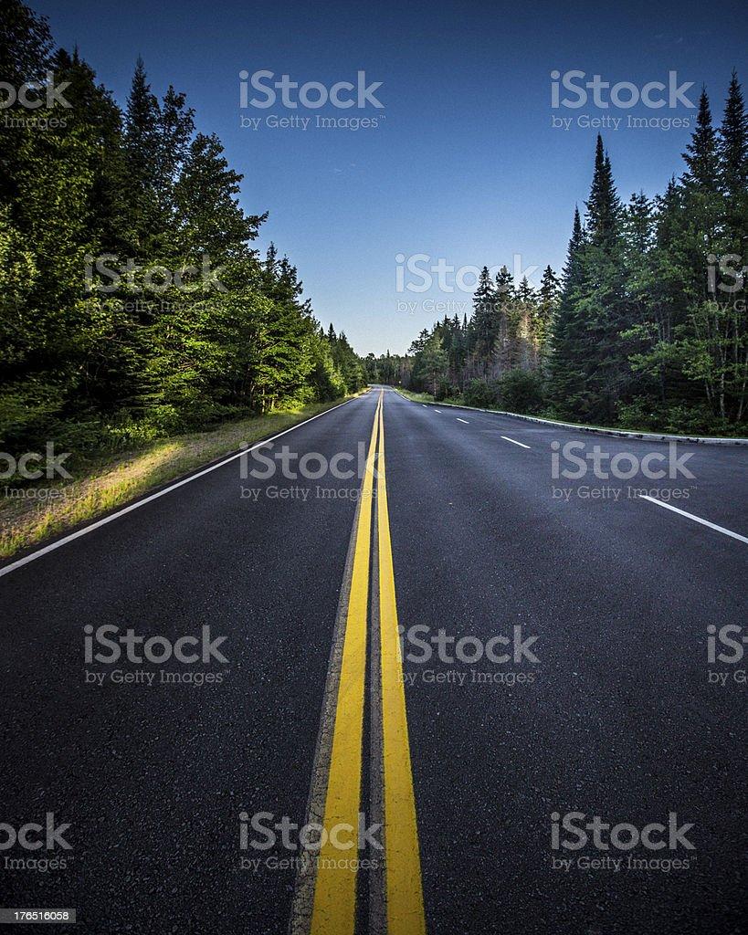 Foto De Sunset Road E Mais Fotos De Stock De Azul Istock